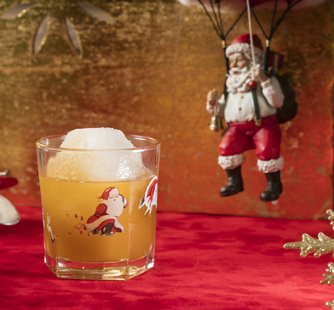 PHOTO VIA SIPPIN' SANTA