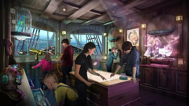 The Farbound designed Phantom Bridge digital-focused escape rooms debuting on Sky Princess and Enchanted Princess - IMAGE VIA PRINCESS CRUISES