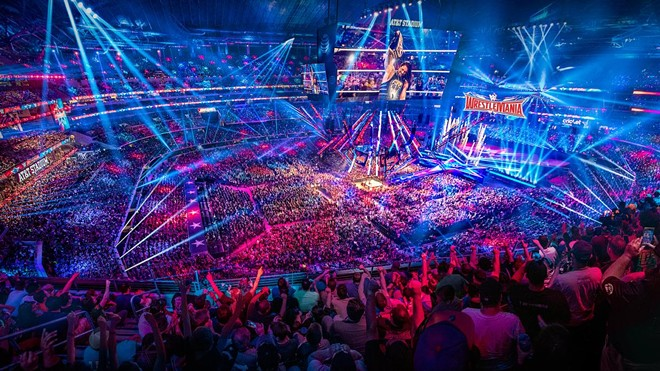 Orange County leaders want events like Wrestlemania at Amway Center - PHOTO COURTESY WWE