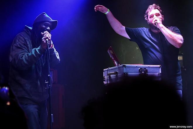 Ceschi and Swamburger at Soundbar - JEN CRAY
