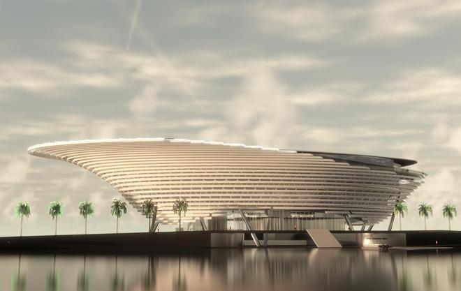 The proposed, high-tech Mote Science Education Aquarium. - IMAGE VIA MOTE MARINE LABORATORY & AQUARIUM