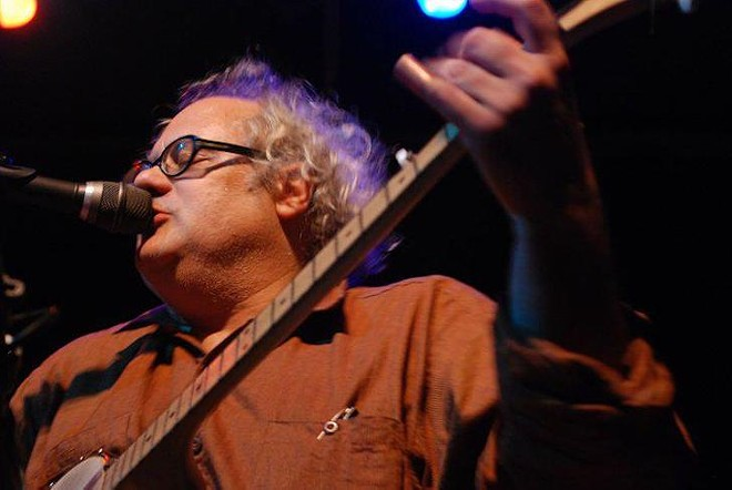 PHOTO BY BRIAN AAKER COURTESY EUGENE CHADBOURNE/FACEBOOK