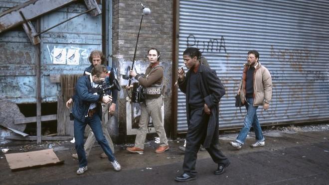 Jean-Michel Basquiat in Downtown 81 - COURTESY MUSIC BOX FILMS