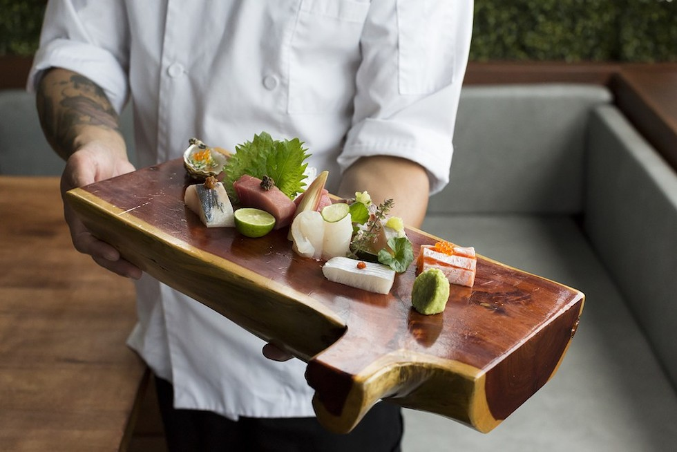 Omakase at Kabooki Sushi Sand Lake - PHOTO BY ROB BARTLETT