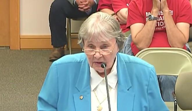 National Rifle Association lobbyist Marion Hammer - SCREENSHOT VIA THE FLORIDA CHANNEL/TWITTER