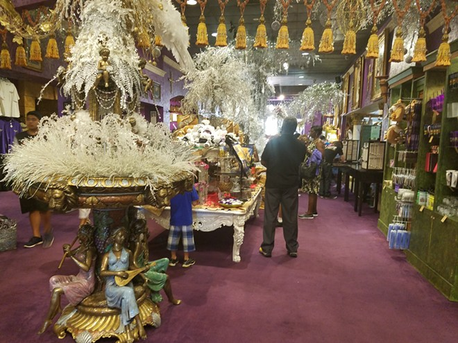 A typical Holy Land Experience gift shop during the Jan Crouch era - IMAGE VIA KEN STOREY