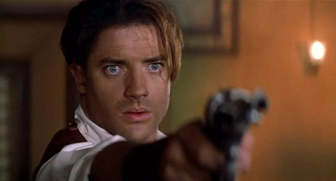 Brendan Fraser in The Mummy, 1999 - PHOTO COURTESY UNIVERSAL PICTURES