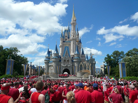 Walt Disney World (not Disneyland) - PHOTO VIA JERICL CAT/WIKIMEDIA COMMONS