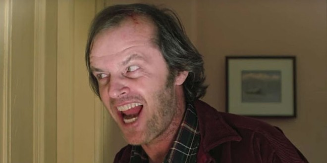 Jack Nicholson in The Shining - IMAGE COURTESY WARNER BROS.