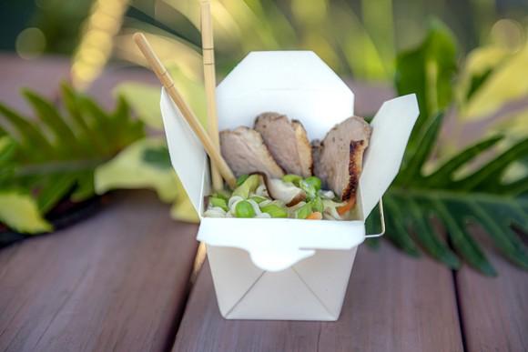 Duck and mushroom ramen bowl - PHOTO COURTESY SEAWORLD