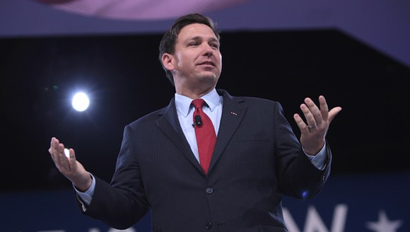 Gov. Ron DeSantis - PHOTO BY GAGE SKIDMORE/WIKIMEDIA COMMONS