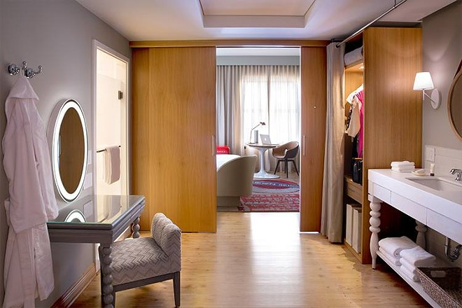 A room at the Virgin Hotel in Chicago - IMAGE VIA VIRGIN HOTELS CHIACGO
