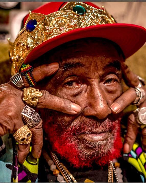 """Lee """"Scratch"""" Perry - VIA OFFICIAL LEE """"SCRATCH"""" PERRY FACEBOOK"""