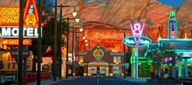 Cars Land at Disney California Adventure - PHOTO VIA DISNEY/FACEBOOK