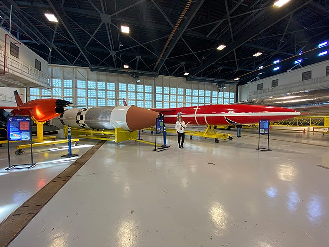 Hangar C - IMAGE VIA KENNEDY SPACE CENTER VISITORS COMPLEX
