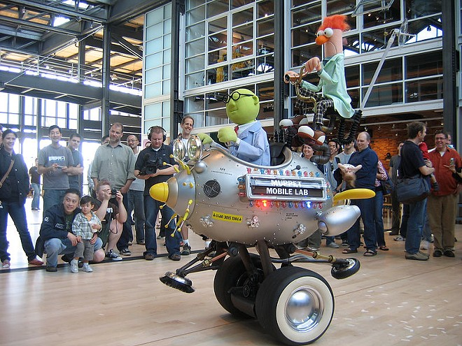 The Muppet Mobile Lab at Pixar Studios - IMAGE VIA DAWN ENDICO | WIKIMEDIA