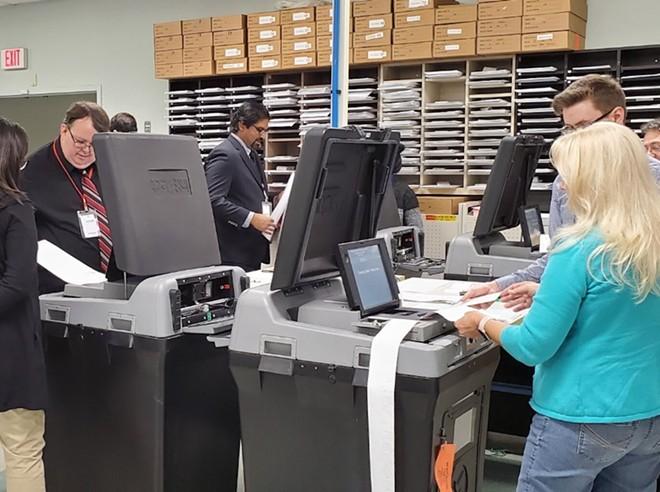 PHOTO VIA ORANGE COUNTY SUPERVISOR OF ELECTIONS