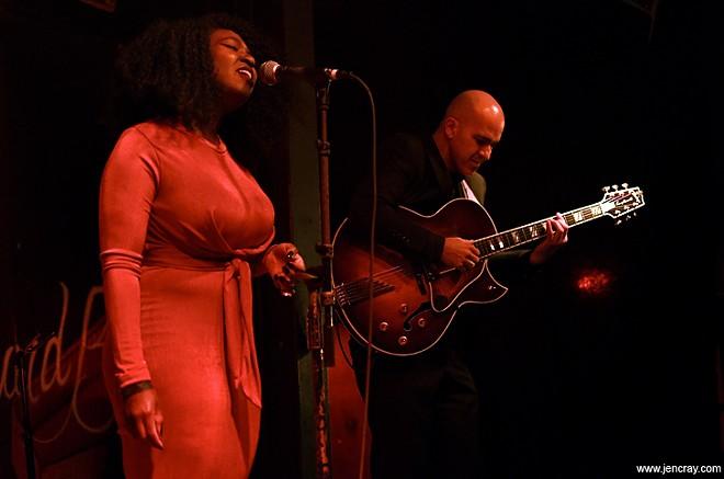 Kristen Warren and Walt Stacey at Soundbar - PHOTO BY JEN CRAY