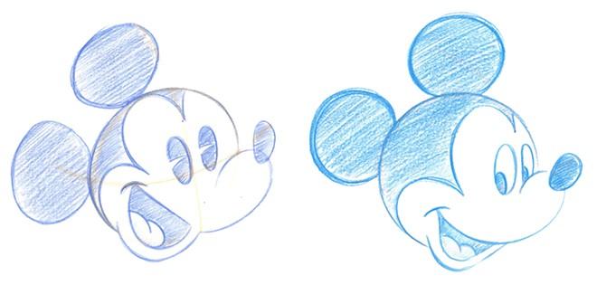 Drawings by Disney cast member Stephen Ketchum - SCREENSHOT VIA DISNEY PARKS/YOUTUBE