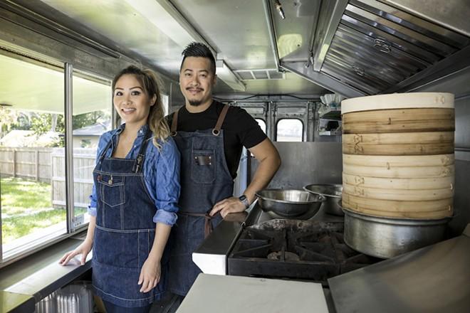 Jimmy Nguyen & Chau Vo - PHOTO BY ROB BARTLETT