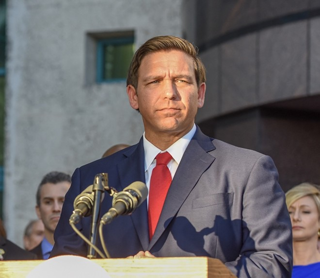 Gov. Ron DeSantis - PHOTO VIA STATE OF FLORIDA/WIKIMEDIA COMMONS