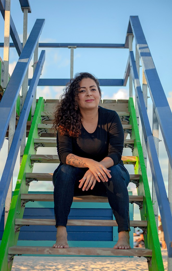 Jaquira Díaz - PRESS PHOTO BY MARIA ESQUINCA