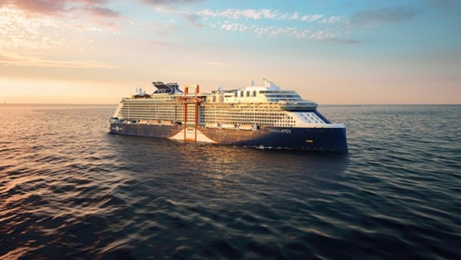 The Celebrity Apex - IMAGE VIA CELEBRITY CRUISES