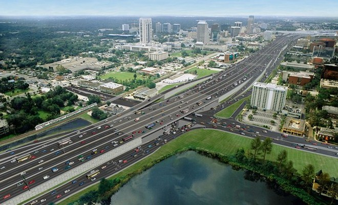 PHOTO VIA FLORIDA DEPARTMENT OF TRANSPORTATION / I-4 ULTIMATE