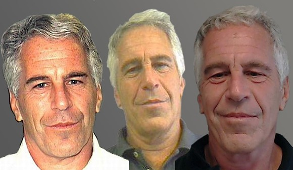 Mugshots of Jeffrey Epstein in 2006, 2011 and 2013 - IMAGES VIA PUBLIC RECORDS