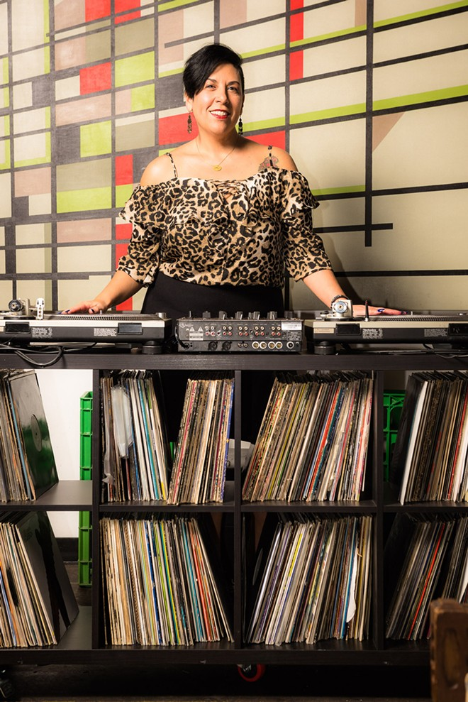 DJ Bonita Vibes - PHOTO VIA DJ BONITA VIBES