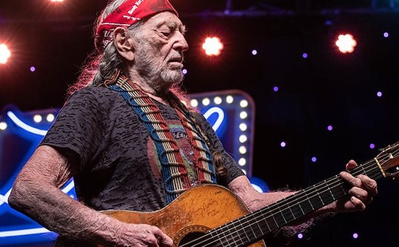 Willie Nelson - PHOTO COURTESY WILLIE NELSON/FACEBOOK