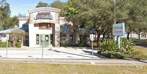 Gator's Dockside in Tampa, at 5840 E. Fowler Ave. - IMAGE VIA GOOGLE MAPS