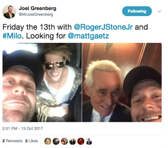IMAGE VIA JOEL GREENBERG/TWITTER