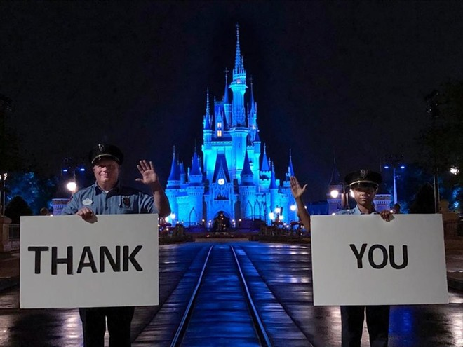 PHOTO VIA WALT DISNEY WORLD/TWITTER