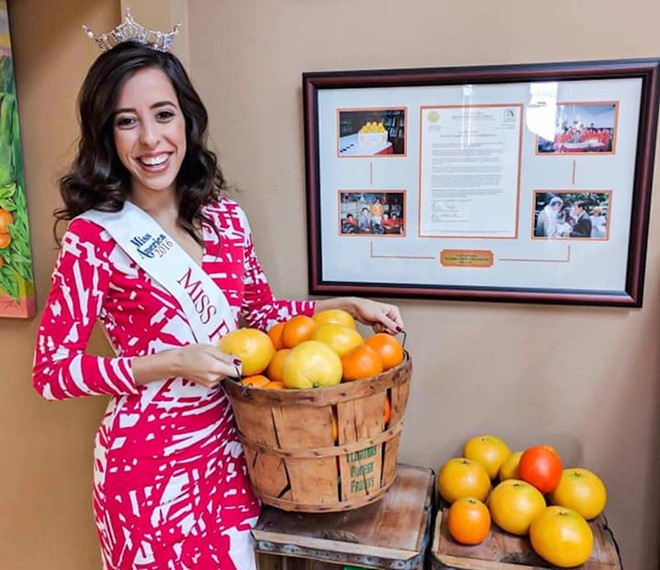 Miss Florida Citrus 2016 Stephanie Capon - PHOTO VIA STEPHANIE CAPON/FACEBOOK