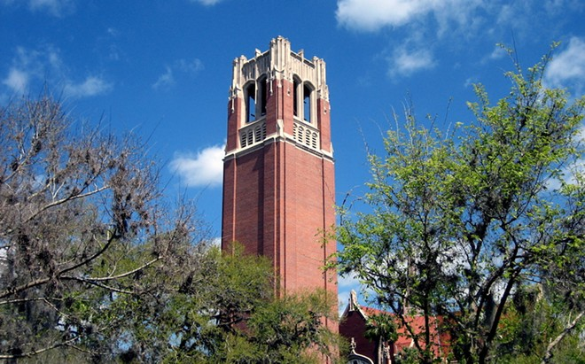 The Century Tower at the University of Florida - PHOTO VIA WIKIMEDIA COMMONS