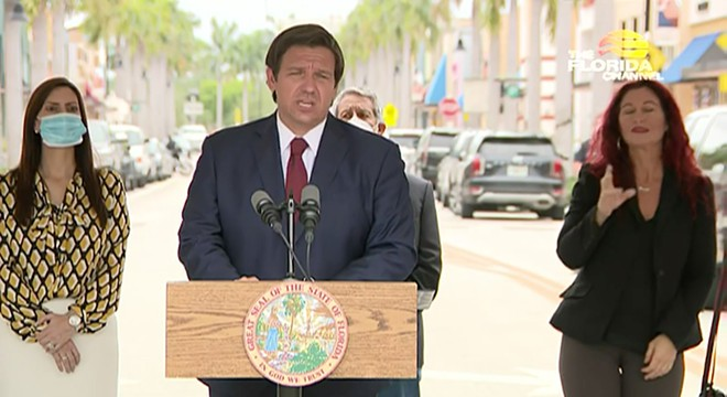SCREENSHOT VIA THE FLORIDA CHANNEL