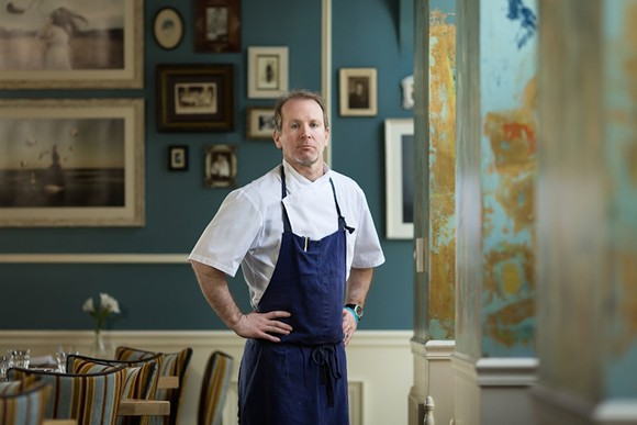 Ravenous Pig executive chef Clay Miller - ROB BARTLETT