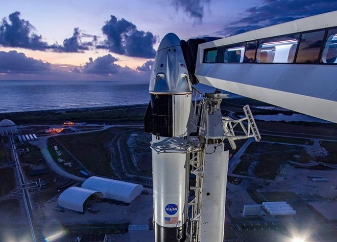PHOTO VIA SPACEX/FACEBOOK