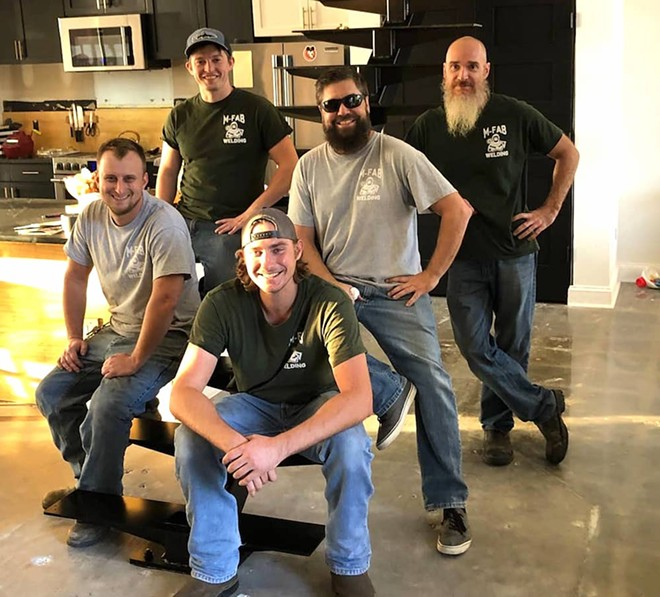 Members of the McCarthy Fabrication crew in October 2019 - PHOTO VIA MCCARTHY FABRICATION/INSTAGRAM