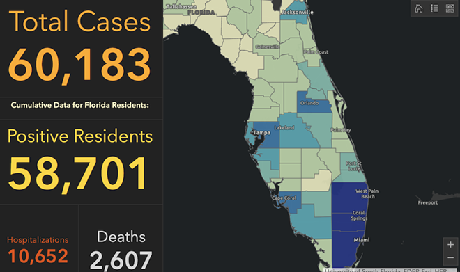 PHOTO VIA: FLORIDA DEPARTMENT OF HEALTH