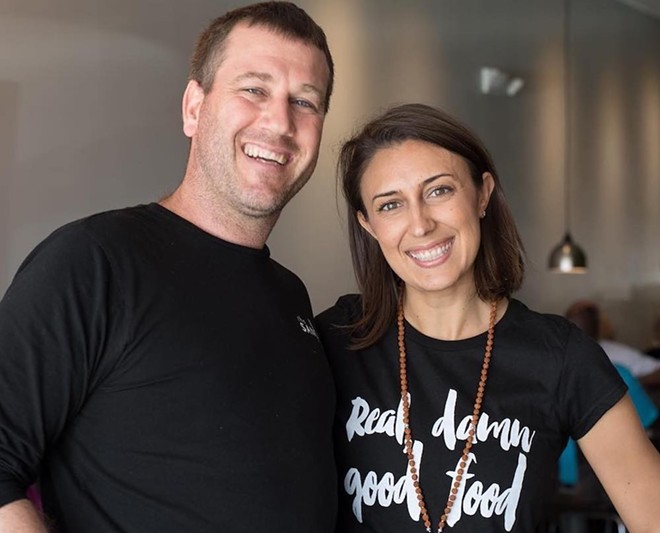 Jamie and Chelsie Savage - PHOTO VIA THE SANCTUM CAFE FACEBOOK