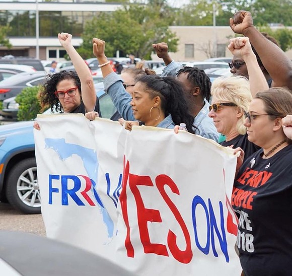 PHOTO VIA FLORIDA RIGHTS RESTORATION COALITION