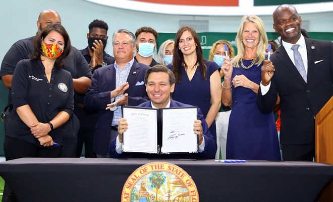 PHOTO COURTESY GOV. RON DESANTIS/FACEBOOK