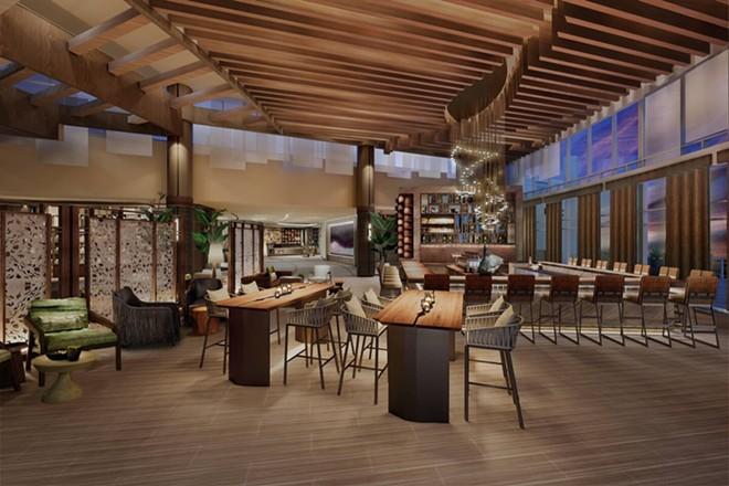 The Lobby Bar at the JW Marriott Orlando Bonnet Creek - IMAGE VIA MARRIOTT