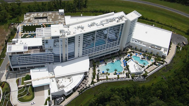 The new JW Marriott Orlando Bonnet Creek Resort and Spa - IMAGE VIA BIORECONSTRUCT | TWITTER