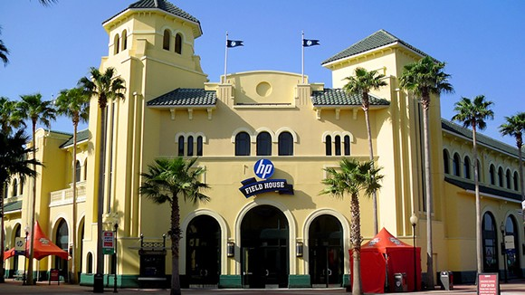 The HP Field House at ESPN Wide World of Sports houses two basketball courts - PHOTO VIA ESPN WIDE WORLD OF SPORTS
