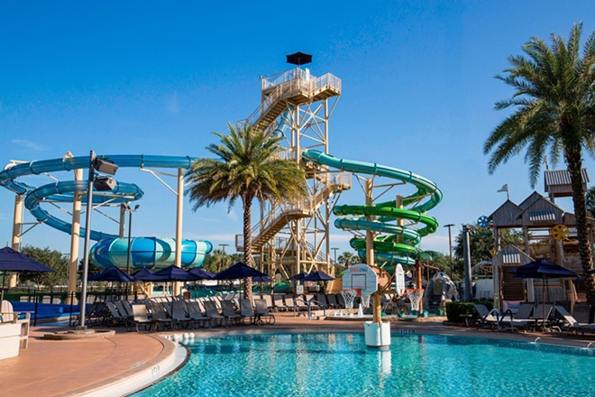 The Cypress Springs Water Park Gaylord Palms - IMAGE VIA MARRIOTT