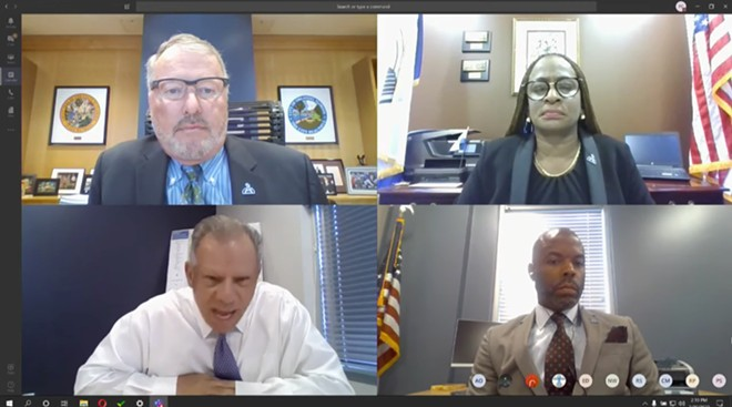 Orlando City Council members meeting on March 30, 2020 - SCREENSHOT VIA CITY OF ORLANDO/YOUTUBE