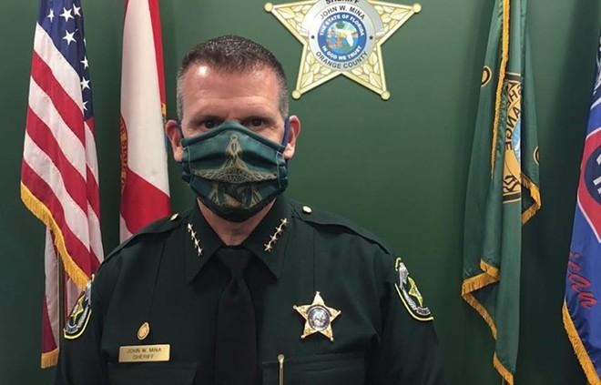 Sheriff John Mina - PHOTO COURTESY SHERIFF JOHN MINA/FACEBOOK